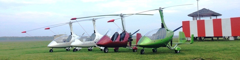 Autogyro flight training center